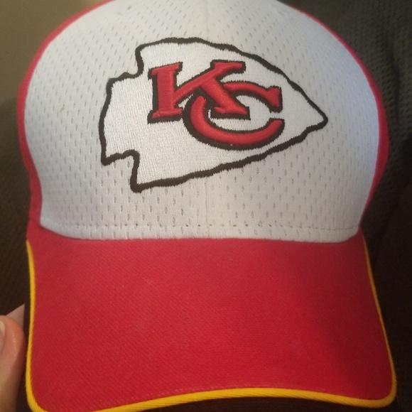NFL Reebok Kansas city chiefs hat. M 5b7b5561819e90681e091364 5756bb453bb